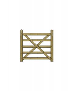 4ft Forester 5 Bar Gate