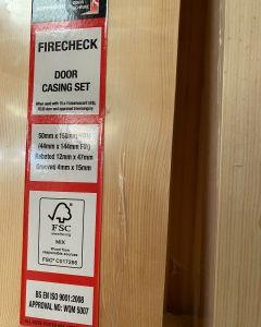 50mm x 150mm Firecheck Door Casing