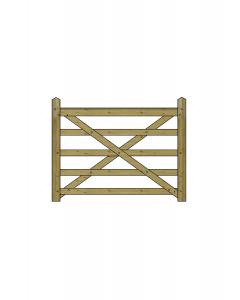 5ft Forester 5 Bar Gate