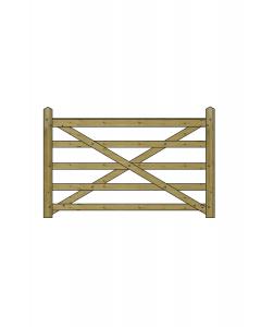 6ft Forester 5 Bar Gate
