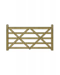 7ft Forester 5 Bar Gate