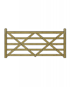 8ft Forester 5 Bar Gate