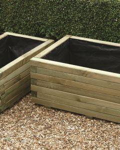 Rectangular Planter Set