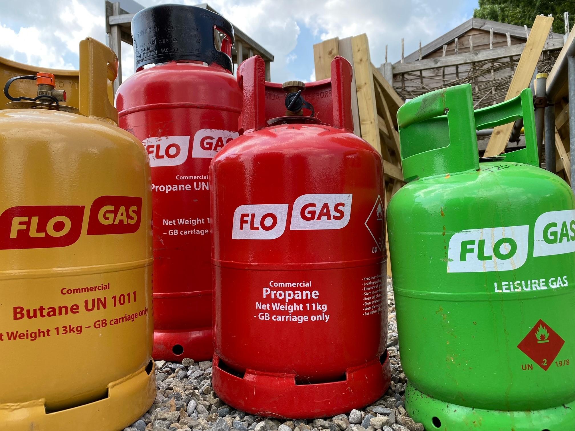 Gas (Propane & Butane)