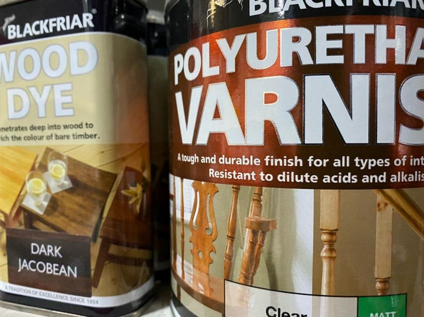 Woodstain and Varnish