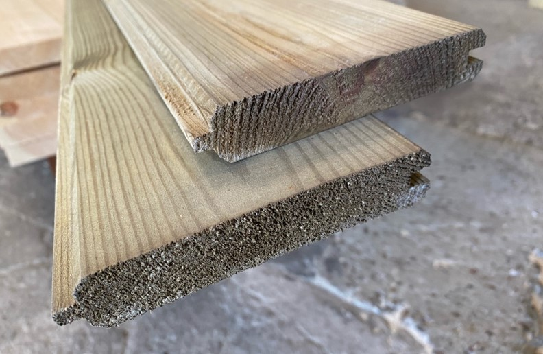 THICK TREATED MATCHBOARD